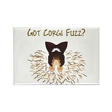 BHT Pem Got Fuzz? Rectangle Magnet