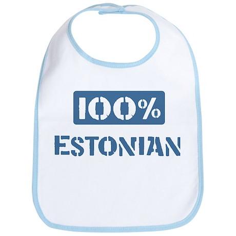 100 Percent Estonian Bib