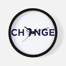 Change Navy Wall Clock