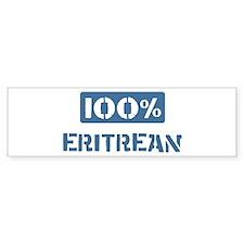 100 Percent Eritrean Bumper Car Sticker