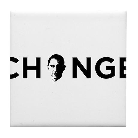 Change Black Tile Coaster