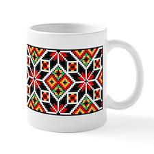 Folk Design 2 Small Mug