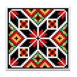 Folk Design 2 Tile Coaster