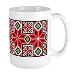 Folk Design 3 Large Mug