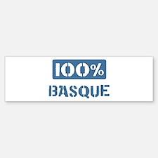100 Percent Basque Bumper Sticker (10 pk)