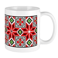 Folk Design 3 Small Mug