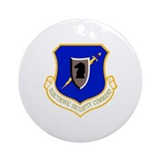 Electronic Security Ornament (Round)