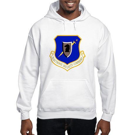 Electronic Security Hooded Sweatshirt