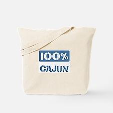 100 Percent Cajun Tote Bag