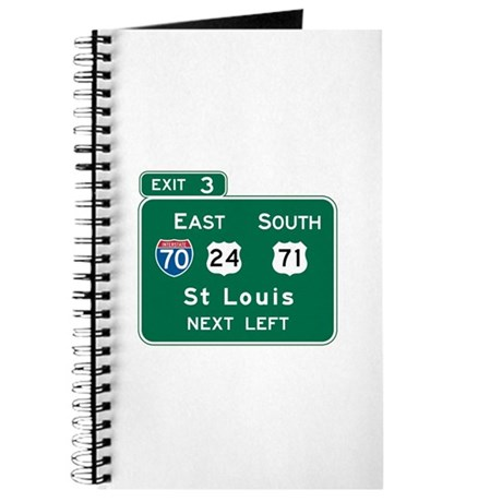 St. Louis, MO Highway Sign Journal