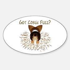 RHT Pem Got Fuzz? Oval Decal