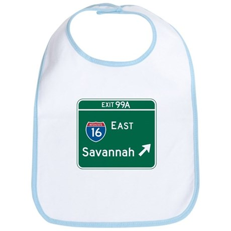 Savannah, GA Highway Sign Bib