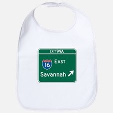 Savannah, GA Highway Sign Bib