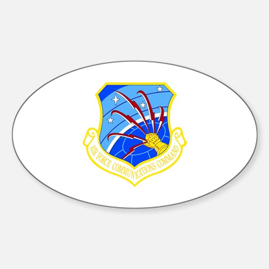 Communications Command Oval Decal