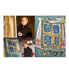 Artwork by Vladimir Putin Postcards (Package of 8)