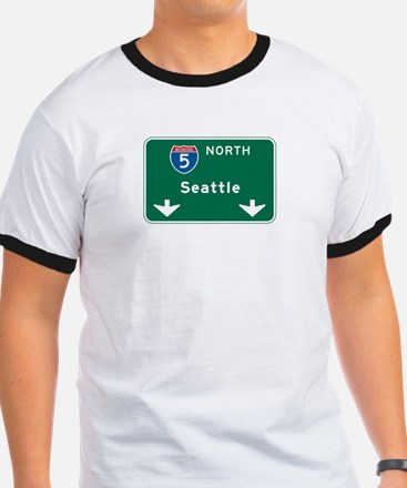 Seattle, WA Highway Sign T
