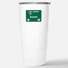 Seattle, WA Highway Sign Travel Mug