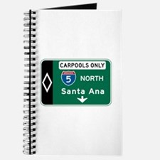 Santa Ana, CA Highway Sign Journal