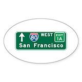 Interstate Bumper Stickers