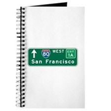 San Francisco, CA Highway Sign Journal