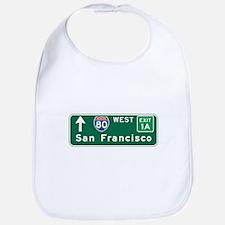 San Francisco, CA Highway Sign Bib