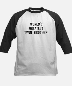 Worlds Greatest Twin Brother Tee