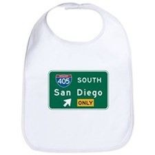 San Diego, CA Highway Sign Bib