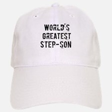 Worlds Greatest Step-son Baseball Baseball Cap