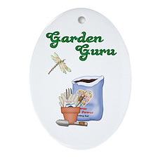 Garden Guru Oval Ornament
