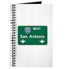 San Antonio, TX Highway Sign Journal