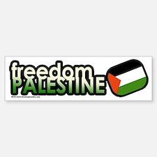 FREEDOM PALESTINE Bumper Bumper Bumper Sticker