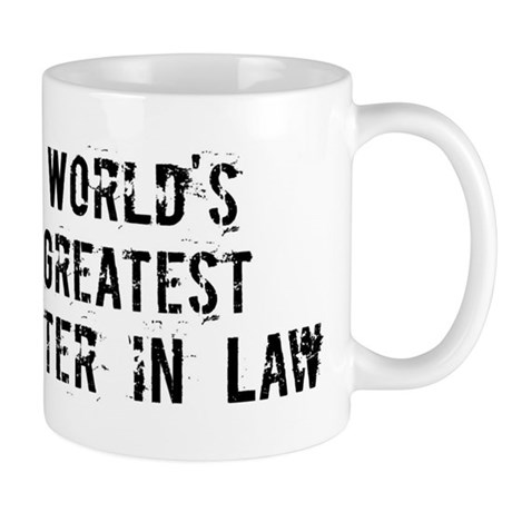 Worlds Greatest Sister in Law Mug
