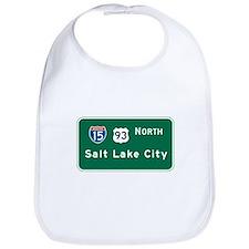 Salt Lake City, UT Highway Sign Bib