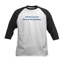 Worlds Coolest Great Grandson Tee