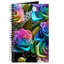 Rose Rainbow Journal