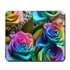 Rose Rainbow Mousepad