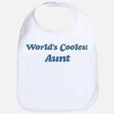 Worlds Coolest Aunt Bib