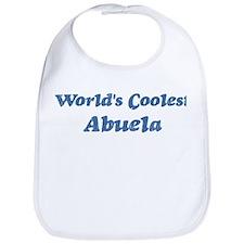 Worlds Coolest Abuela Bib