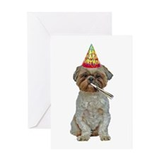 Lhasa Apso Birthday Card