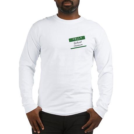 Richard cranium Long Sleeve T-Shirt