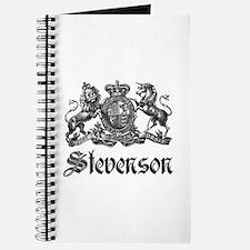 Stevenson Vintage Crest Family Name Journal