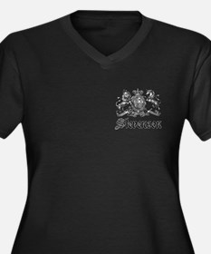Stevenson Vintage Crest Family Name Women's Plus S