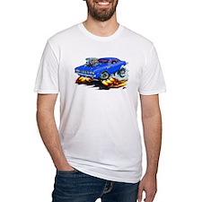 Plymouth Cuda Blue Car Shirt