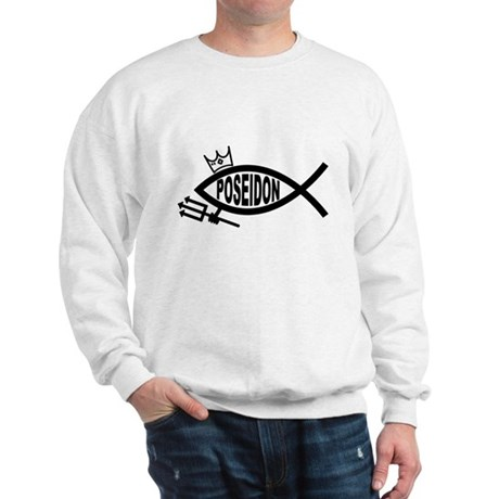 Poseidon fish Sweatshirt