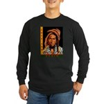 Love and Peace Long Sleeve Dark T-Shirt