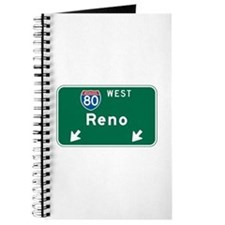 Reno, NV Highway Sign Journal