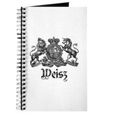 Weisz Vintage Crest Family Name Journal