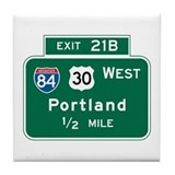 Portland oregon city Drink Coasters