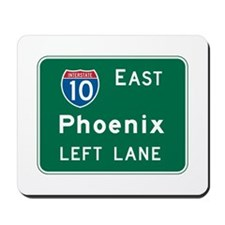 Phoenix, AZ Highway Sign Mousepad