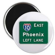 Phoenix, AZ Highway Sign Magnet